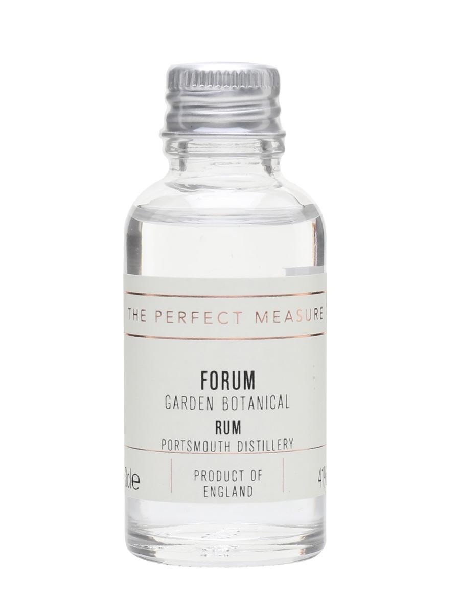 Portsmouth Forum Garden Botanical Rum Sample