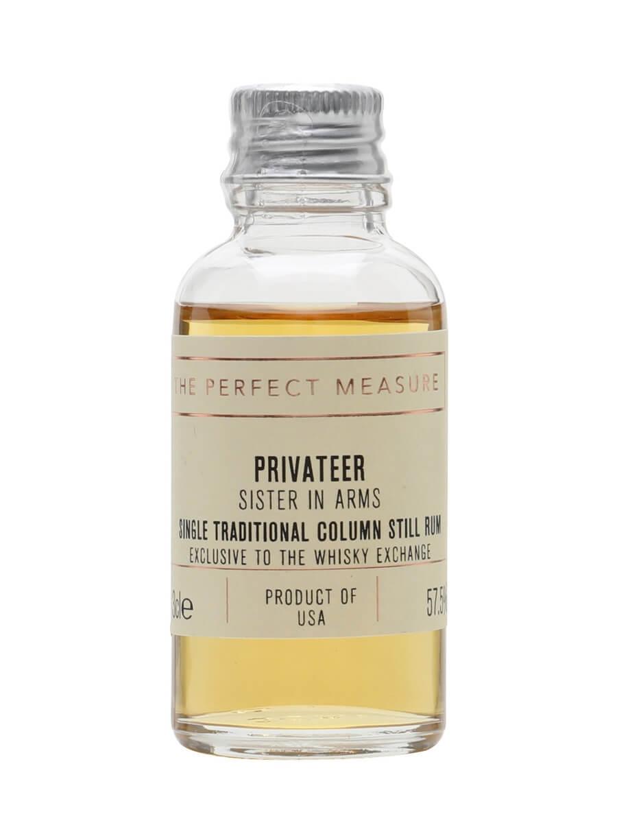 Privateer Sister in Arms Rum Sample / 3 Year Old / TWE Exclusive