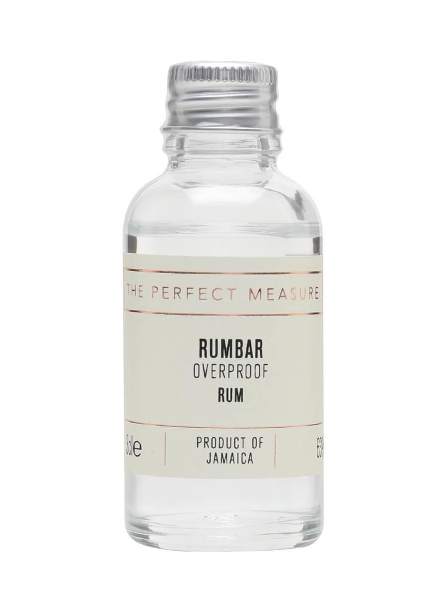 Rumbar Overproof Rum Sample