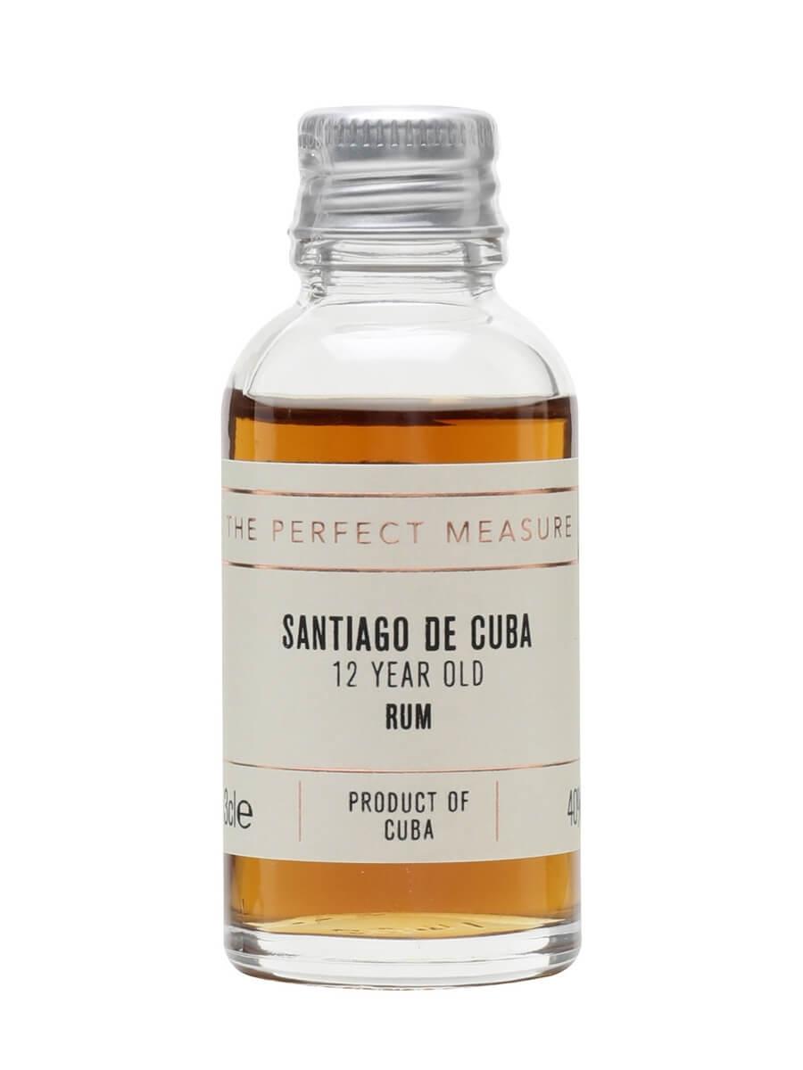 Santiago de Cuba 12 Year Old Sample