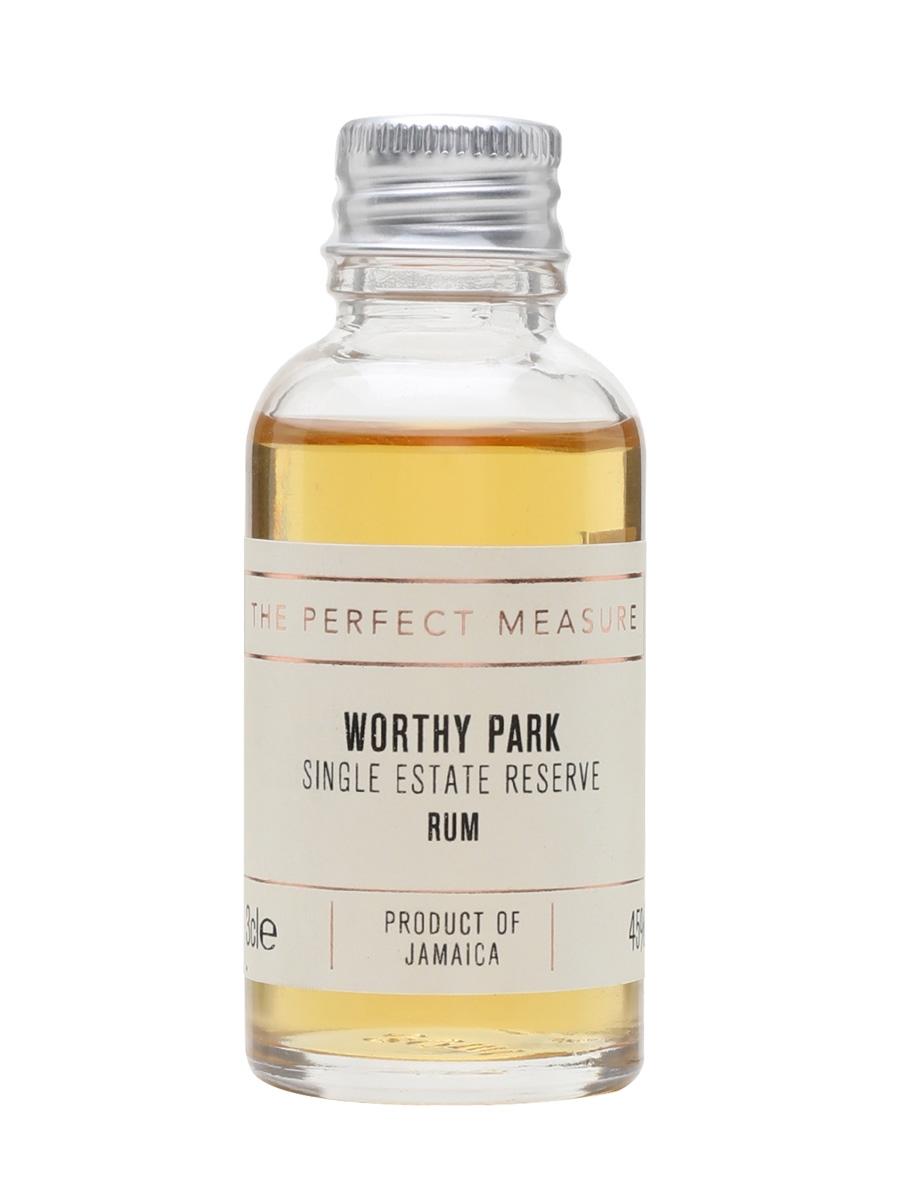 Worthy Park Single Estate Reserve Rum Sample