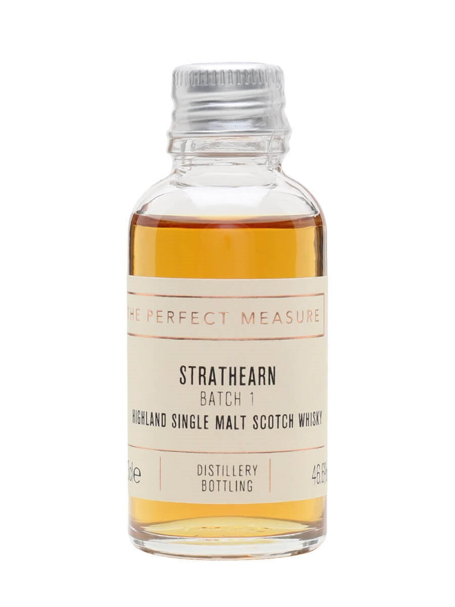 Strathearn Single Malt Batch 1 Sample