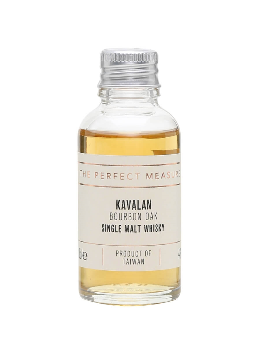 Kavalan Bourbon Oak Sample