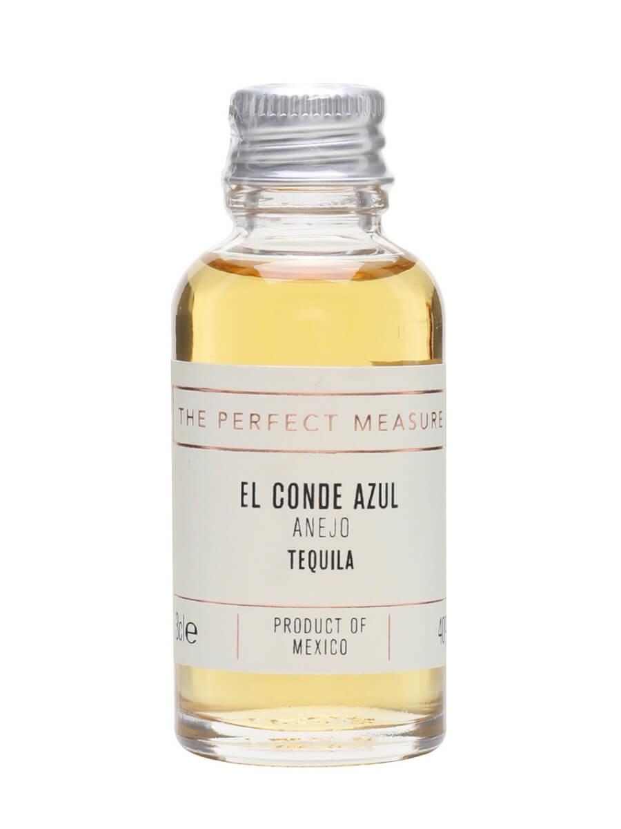 El Conde Azul Anejo Tequila Sample