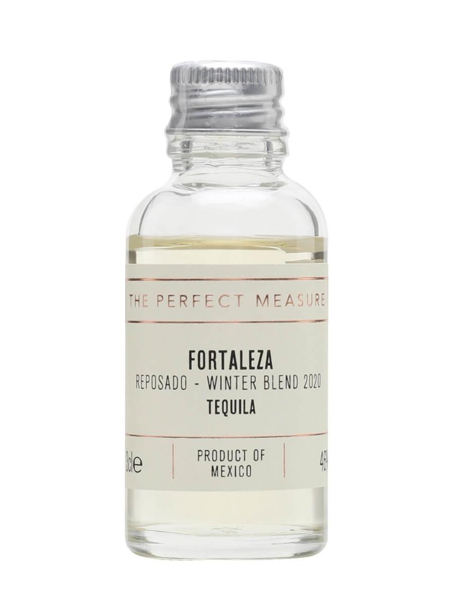 Fortaleza Winter Blend 2020 Reposado Tequila Sample