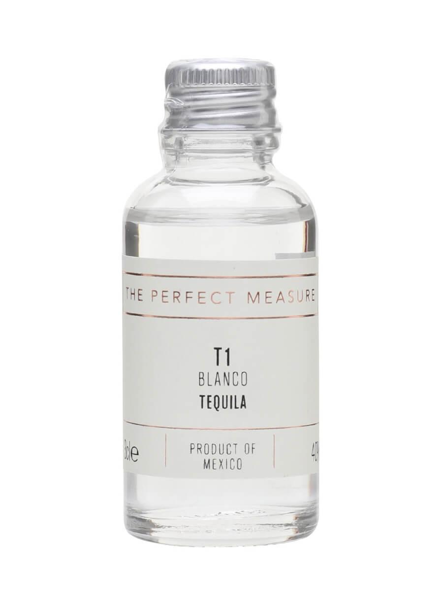 T1 Tequila Uno Blanco Ultra Fino Tequila Sample