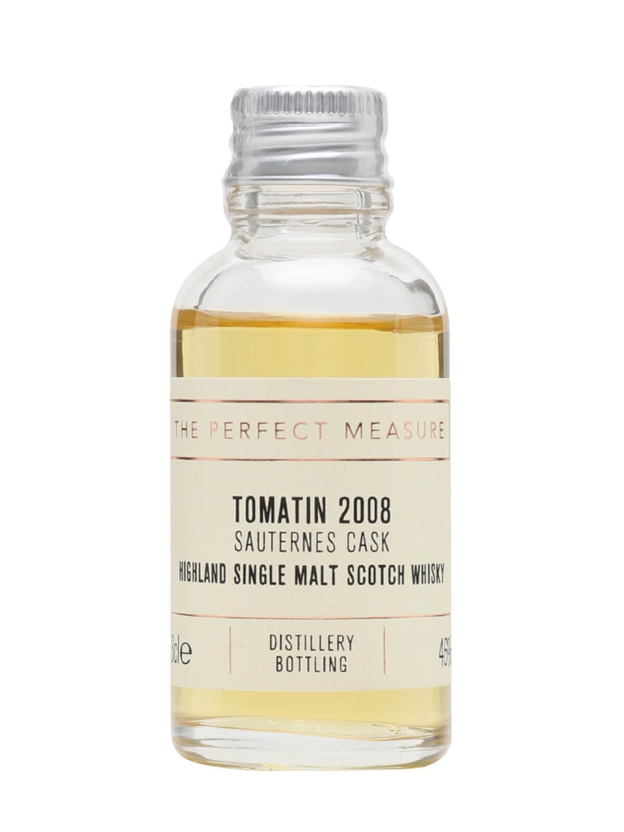 Tomatin 2008 Sauternes Cask Sample / French Collection