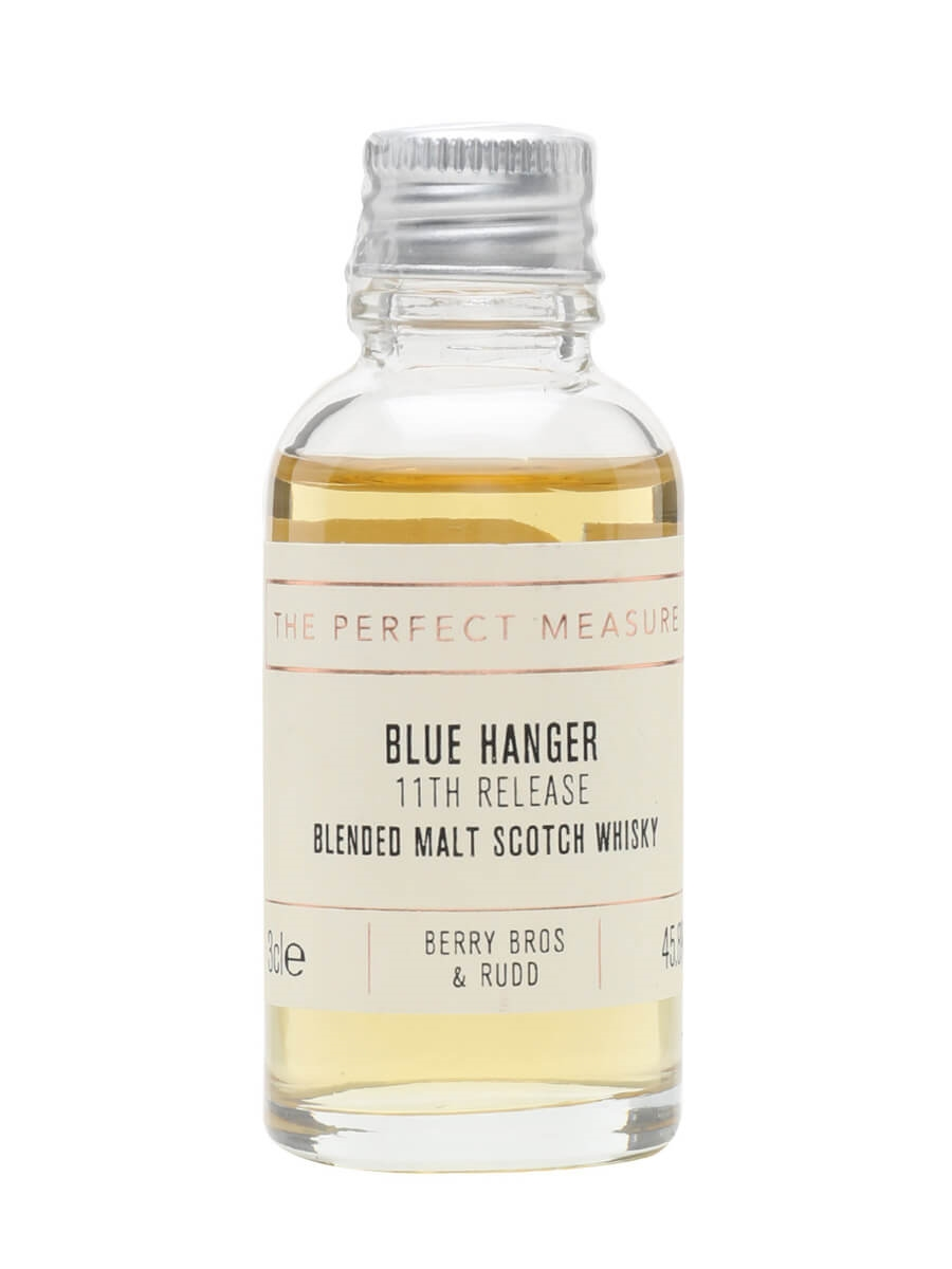 Blue Hanger 11th Release Sample / Berry Bros & Rudd