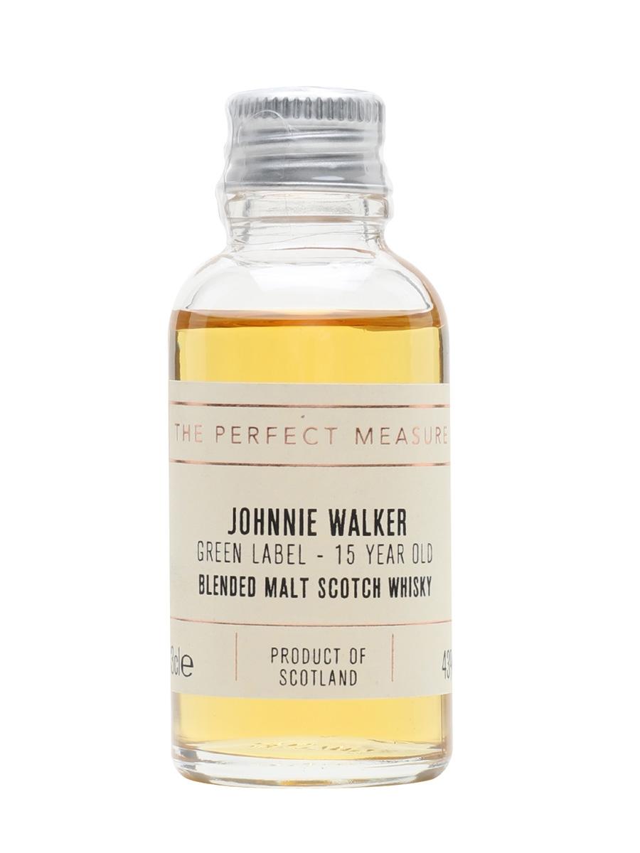 Johnnie Walker Green Label 15 Year Old Sample