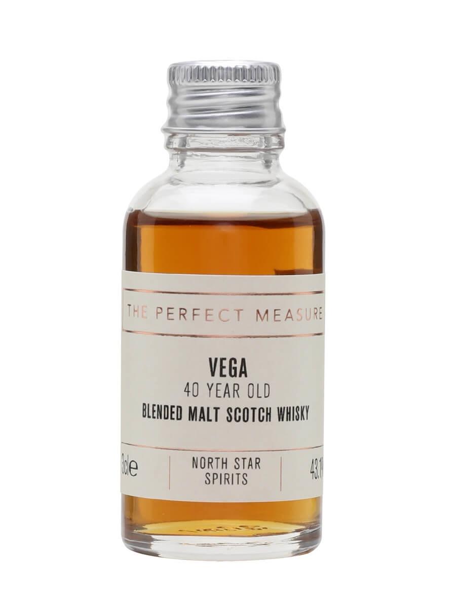 Vega Blended Malt 40 Year Old Sample / North Star