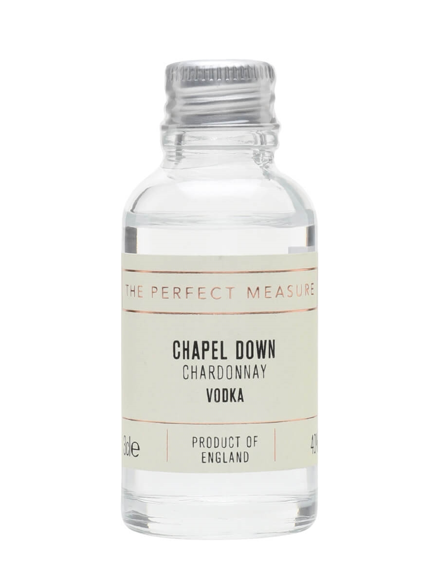 Chapel Down Chardonnay Vodka Sample
