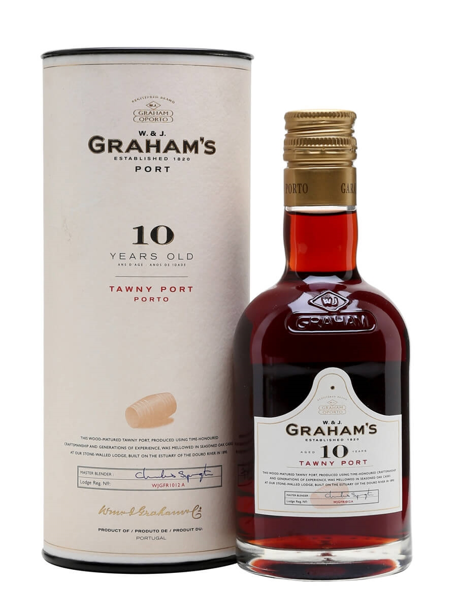 Graham's 10 Year Old Tawny Port / Small Bottle