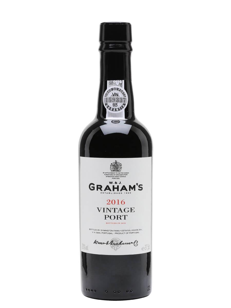 Graham's 2016 Vintage Port / Half Bottle
