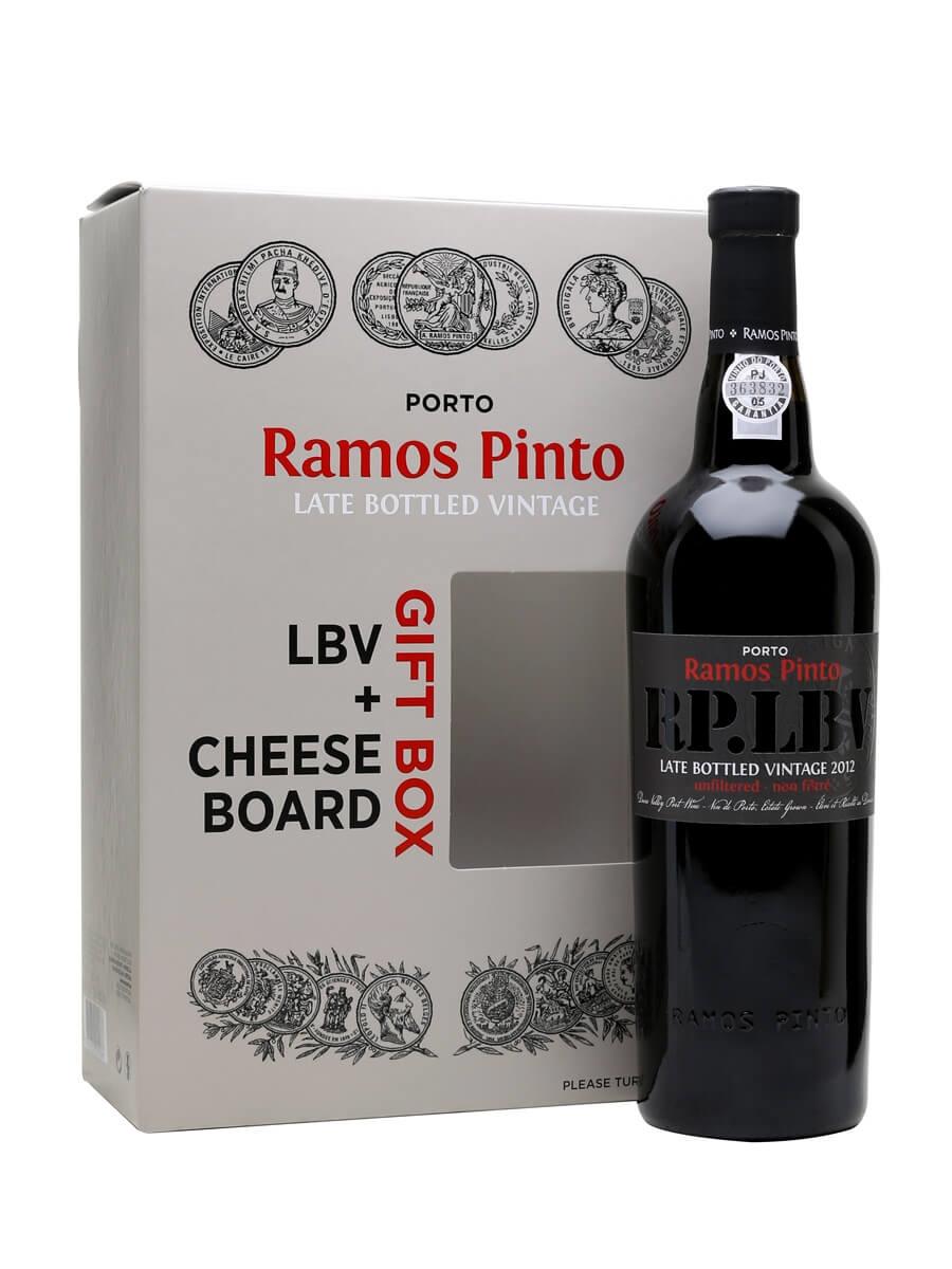 Ramos Pinto LBV 2012 with Cheeseboard