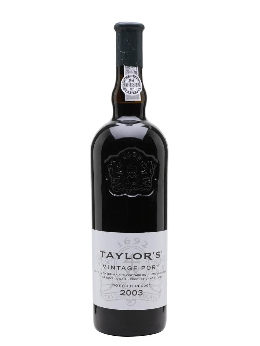 Taylor's 2003 Vintage Port