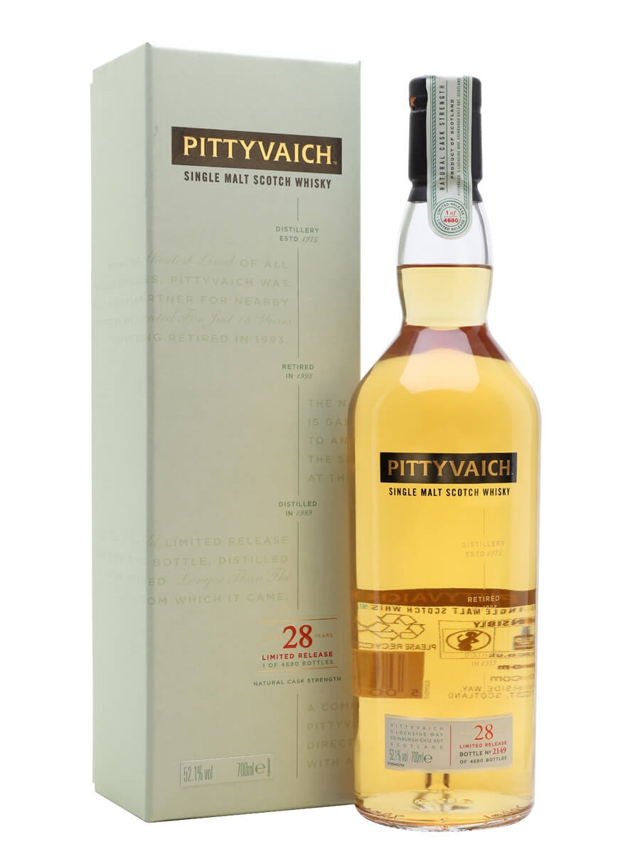 Pittyvaich 28 Year Old / Special Releases 2018