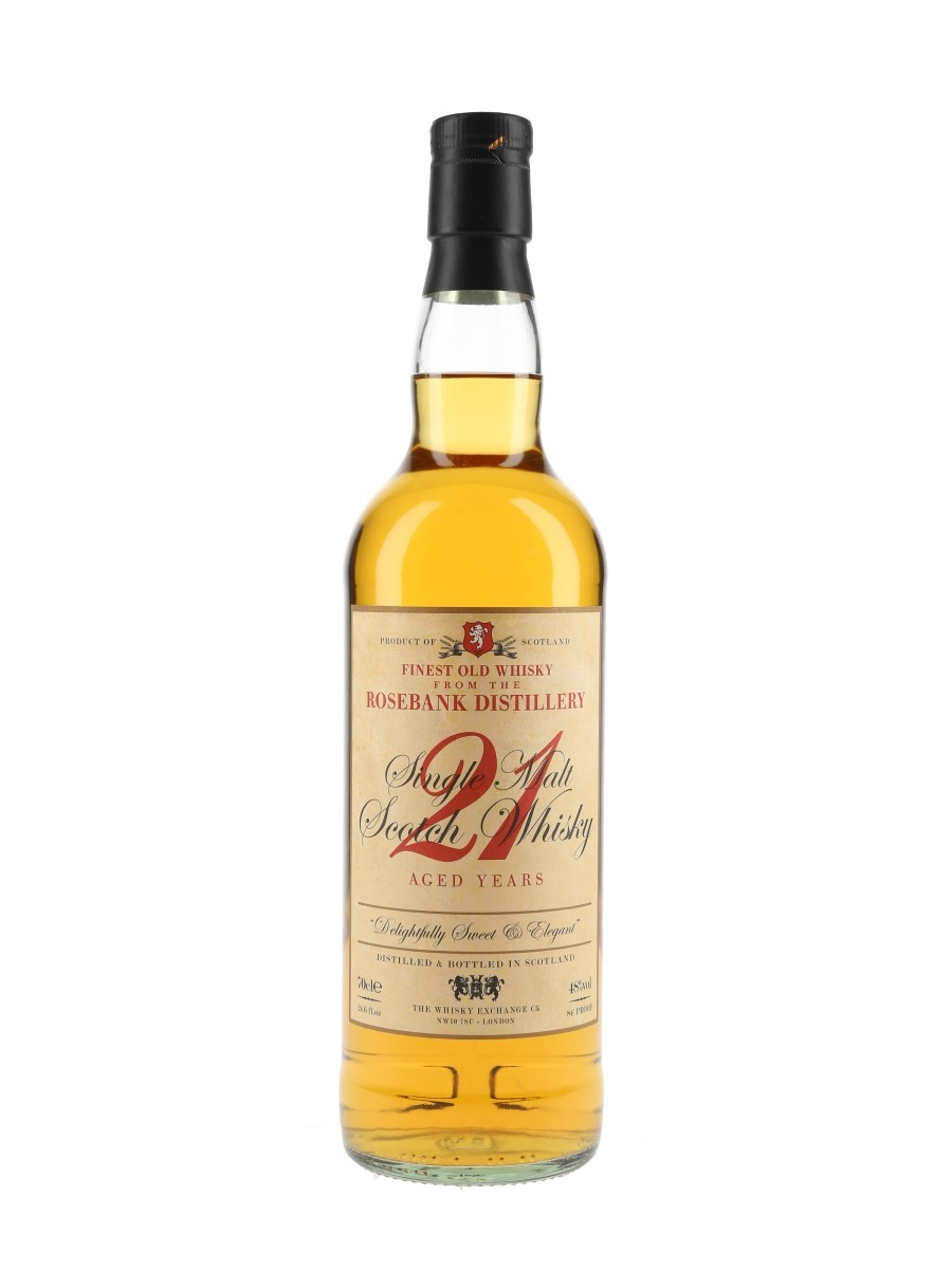 Rosebank 21 Year Old / The Whisky Exchange