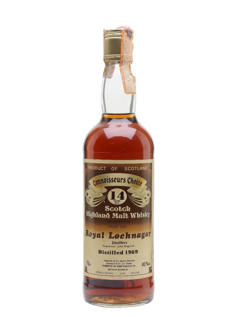 Royal Lochnagar 1969 / 14 Year Old / Sherry Cask / Connoisseurs Choice