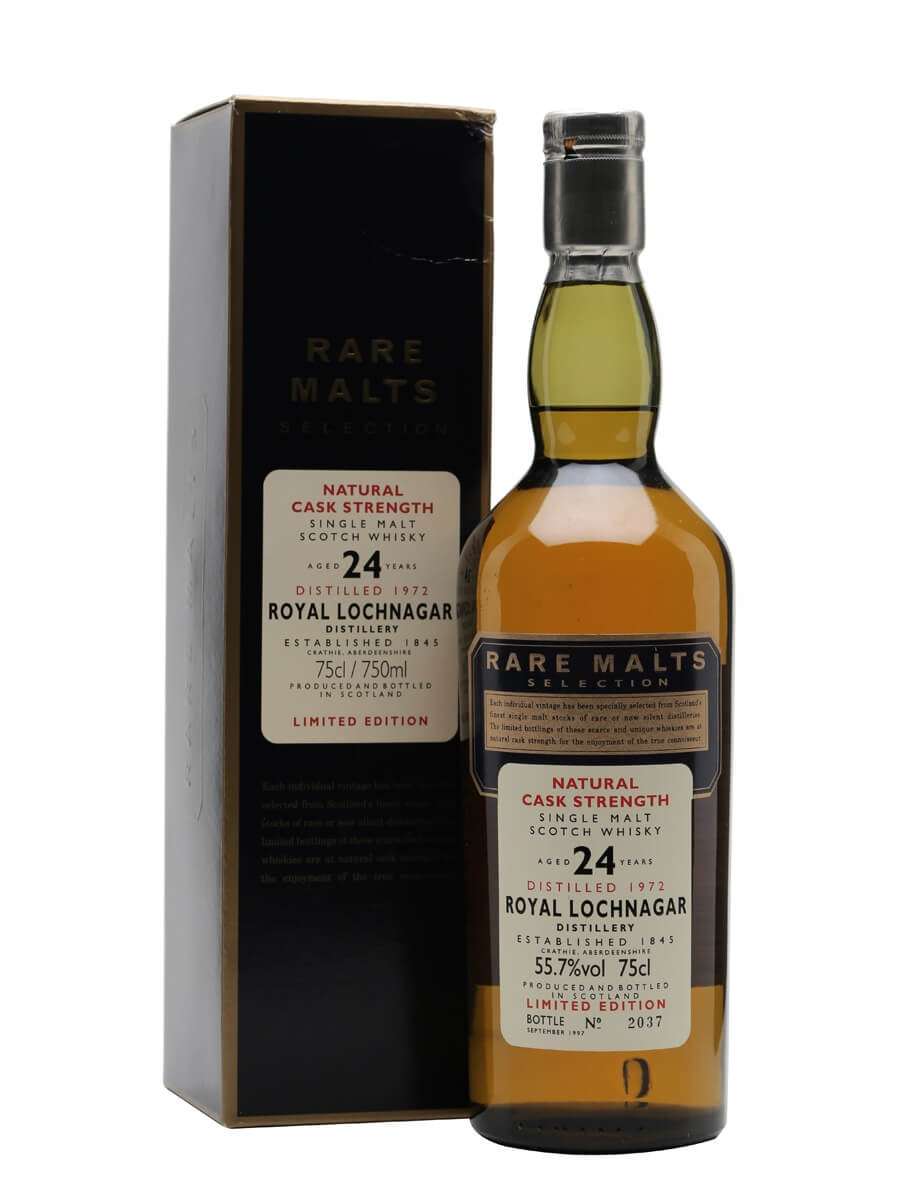 Royal Lochnagar 1972 / 24 Year Old / Rare Malts