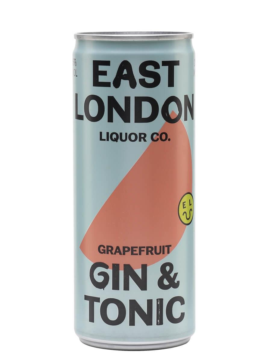 East London Liquor Grapefruit Gin and Tonic (5%)