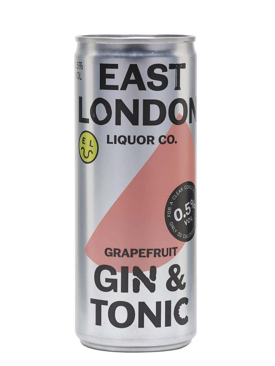 East London Liquor Grapefruit Gin and Tonic (0.5%)