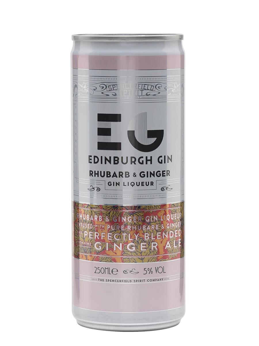 Edinburgh Rhubarb & Ginger with Ginger Ale