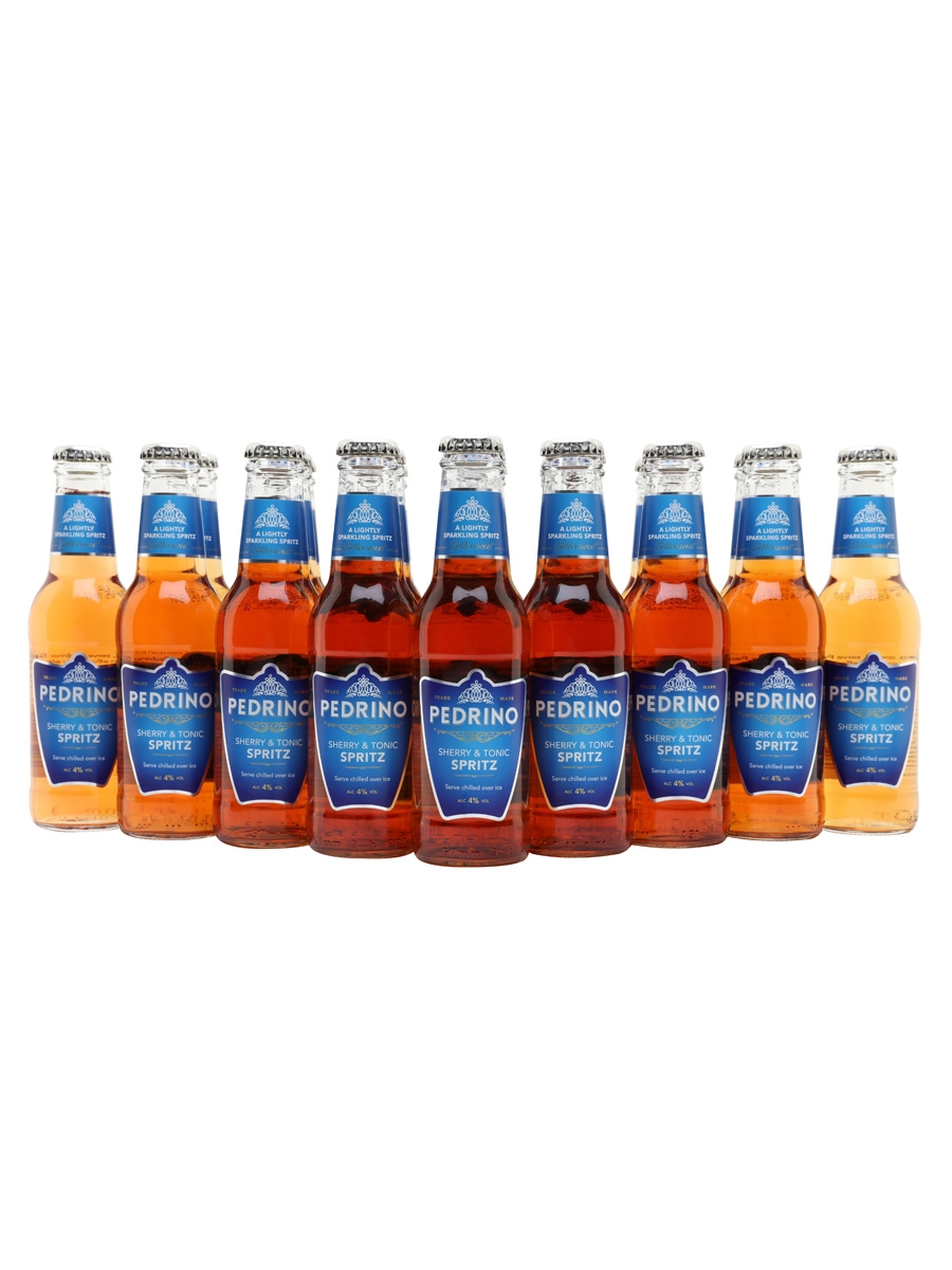 Pedrino Sherry & Tonic Spritz / Case of 24 Bottles