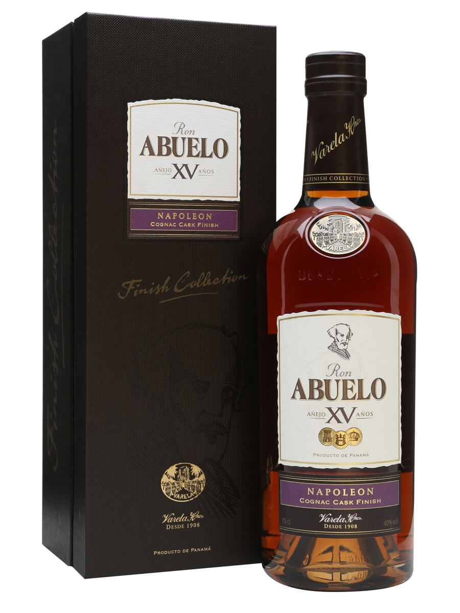 Ron Abuelo 15 Year Old Napoleon Cognac Cask Finish