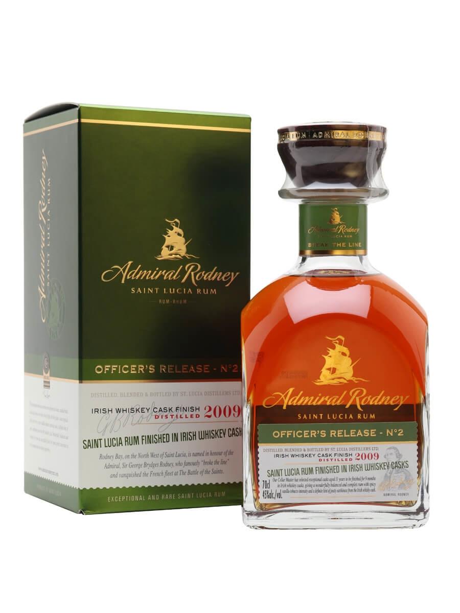 Admiral Rodney Officer's Release No.2 2009 / Irish Whiskey Cask