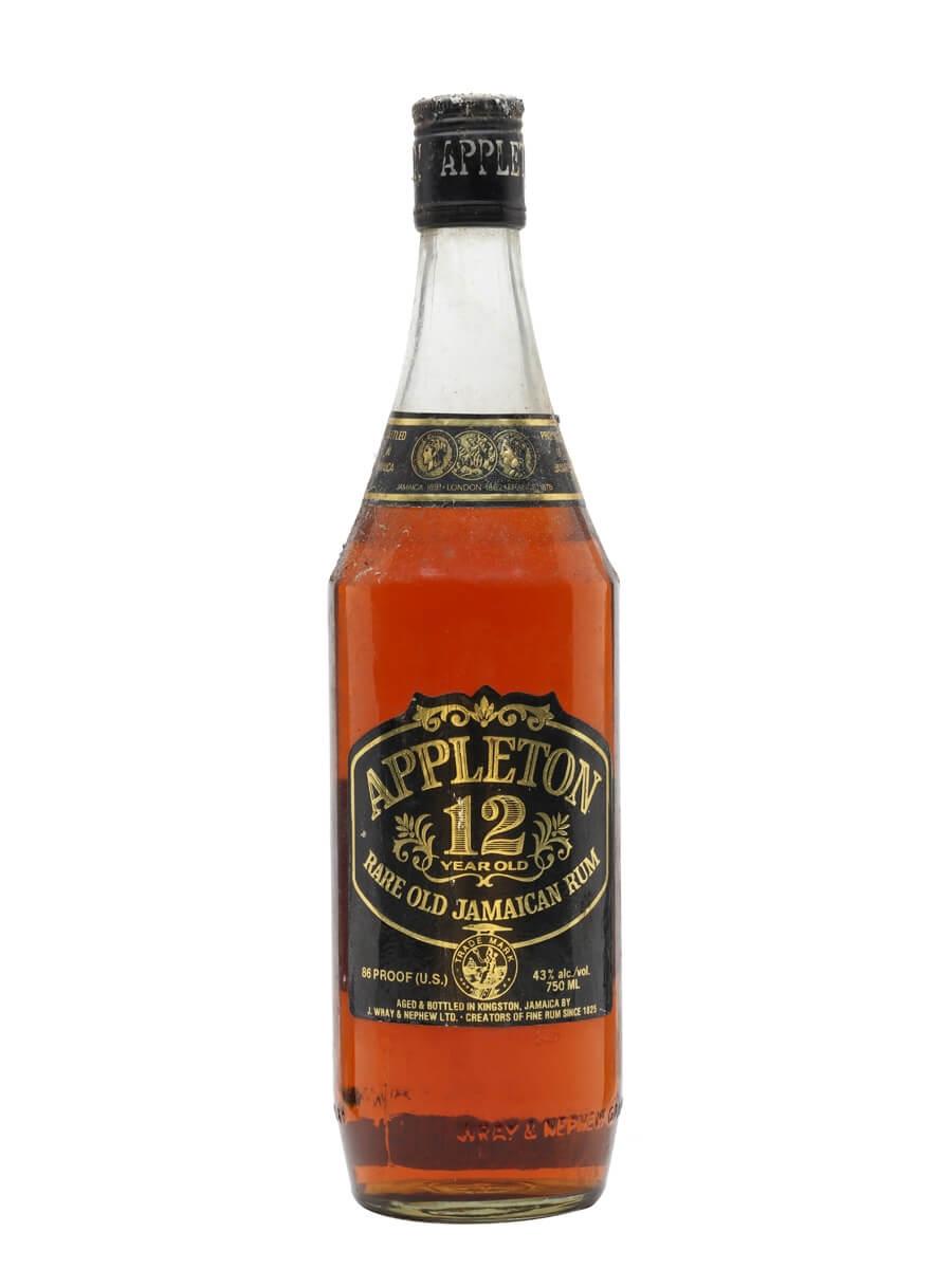Appleton 12 Year Old Rum / Bot.1980s