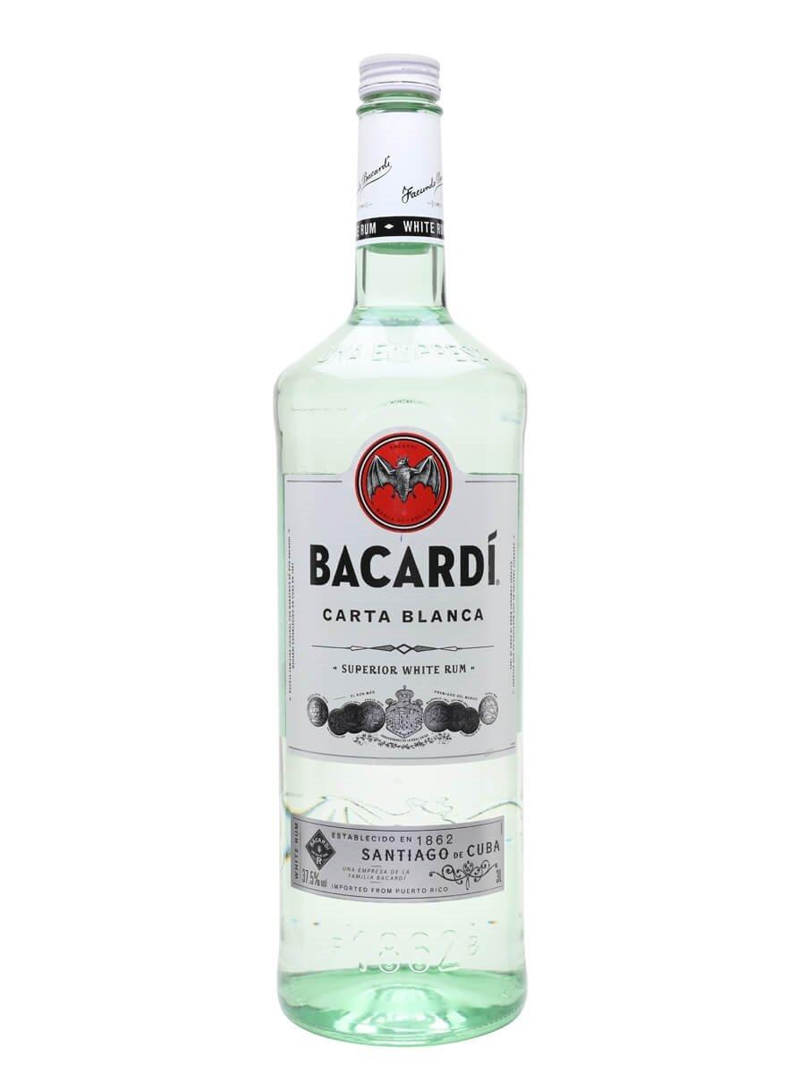 Bacardi Superior Carta Blanca Rum / Double Magnum