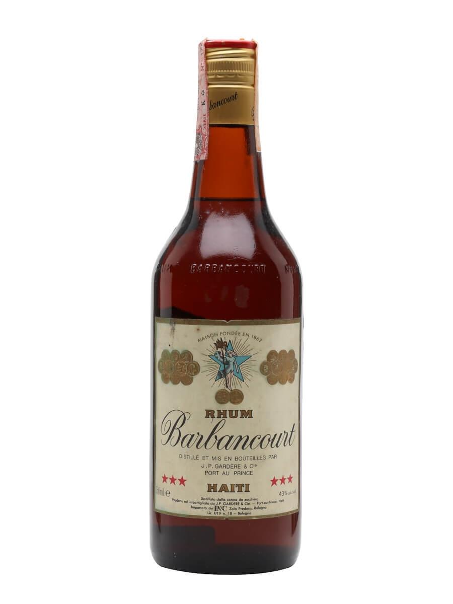 Barbancourt 3 Star Rum / 4 Year Old / Bot.1970s