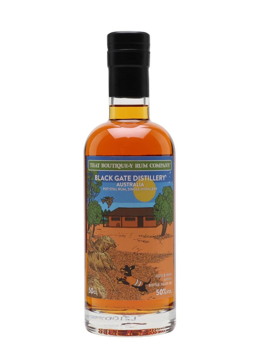 Black Gate 3 Year Old / Batch 1 / That Boutique-y Rum Co
