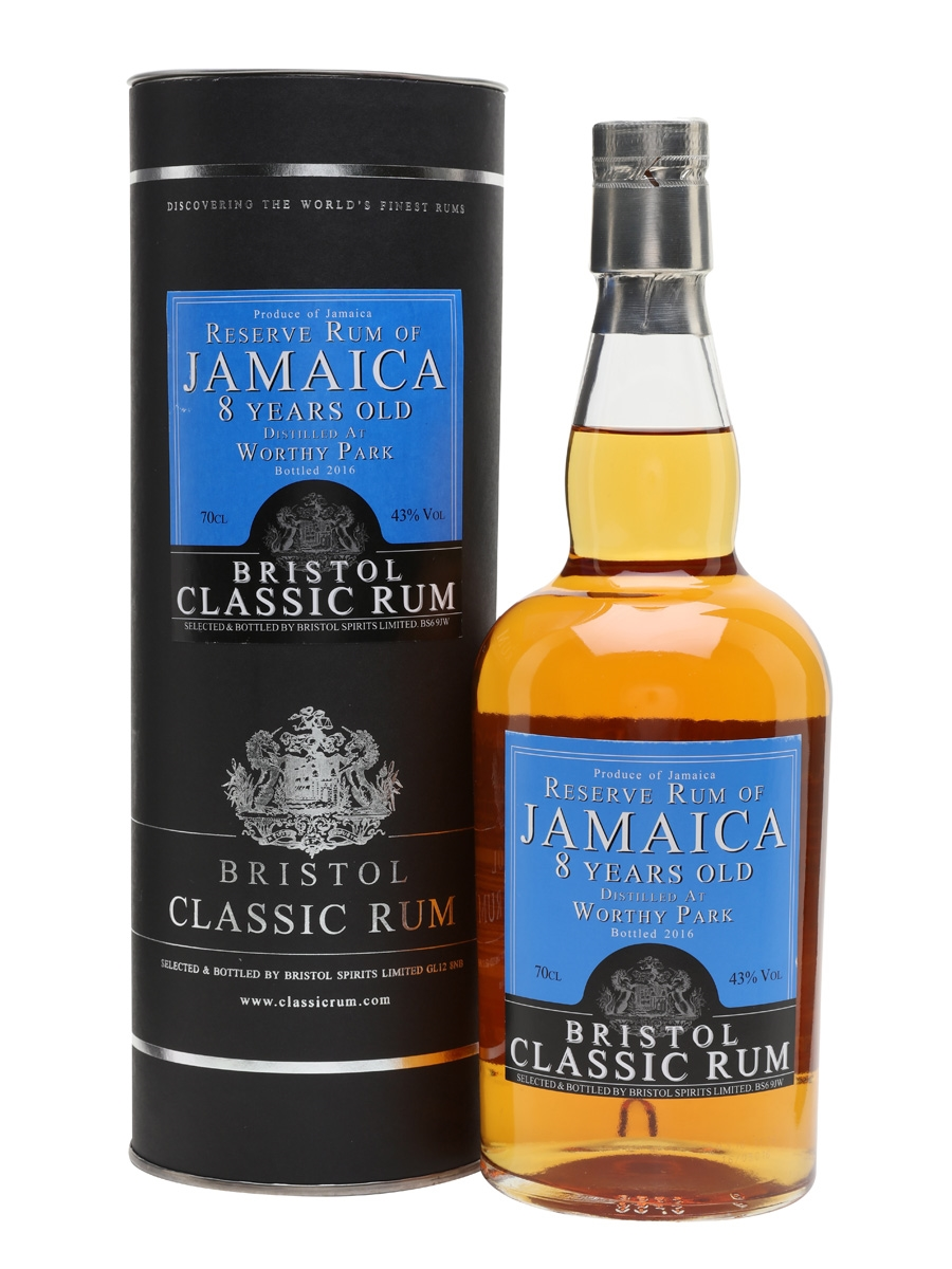 Worthy Park 8 Year Old / Bristol Classic Rums