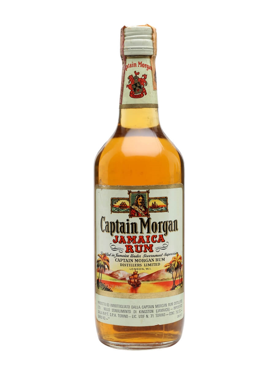 Captain Morgan Rum Bot 1970s The Whisky Exchange