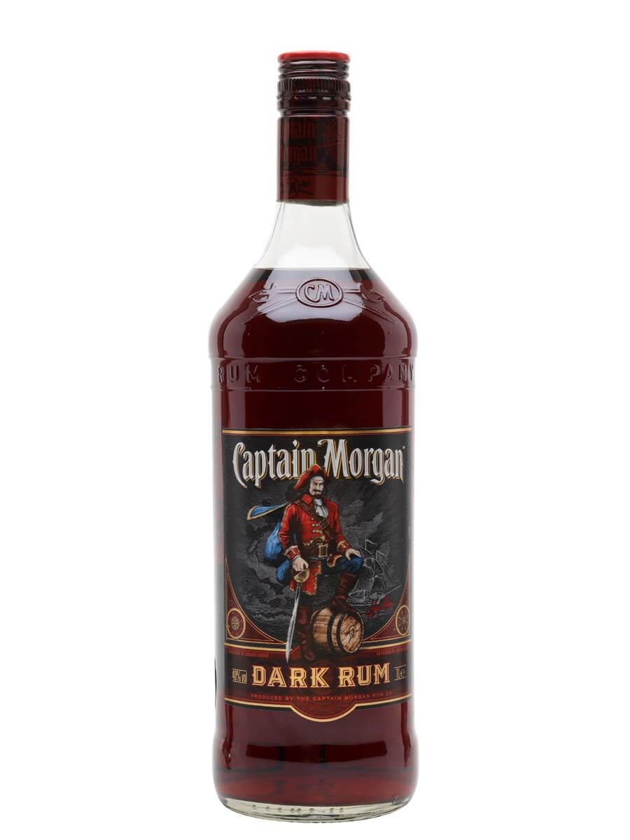 Captain Morgan Dark Rum / Litre