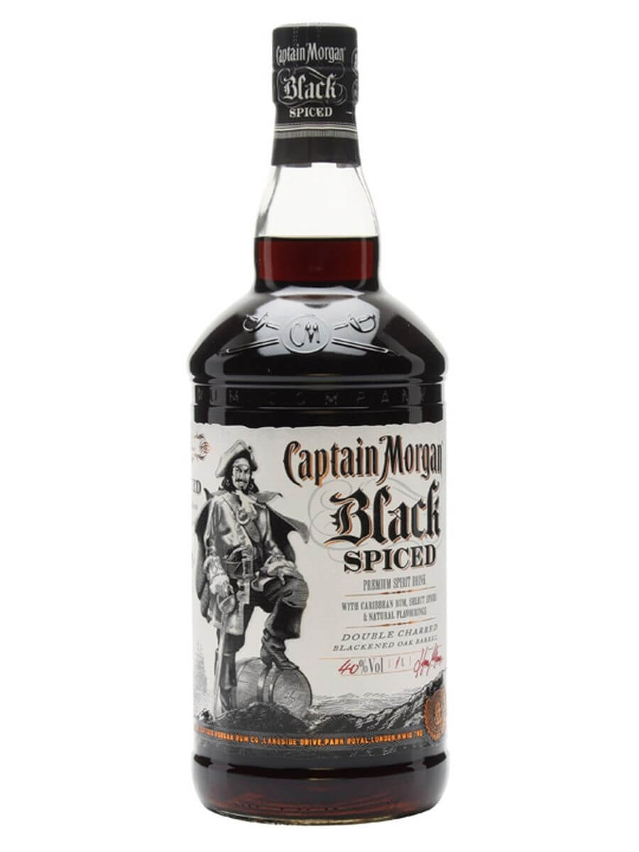 4ce9ce7b5b93a Captain Morgan Black Spiced - Litre   The Whisky Exchange