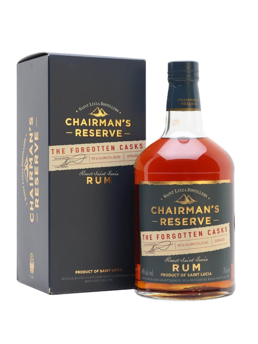Chairman's Reserve Rum / The Forgotten Casks