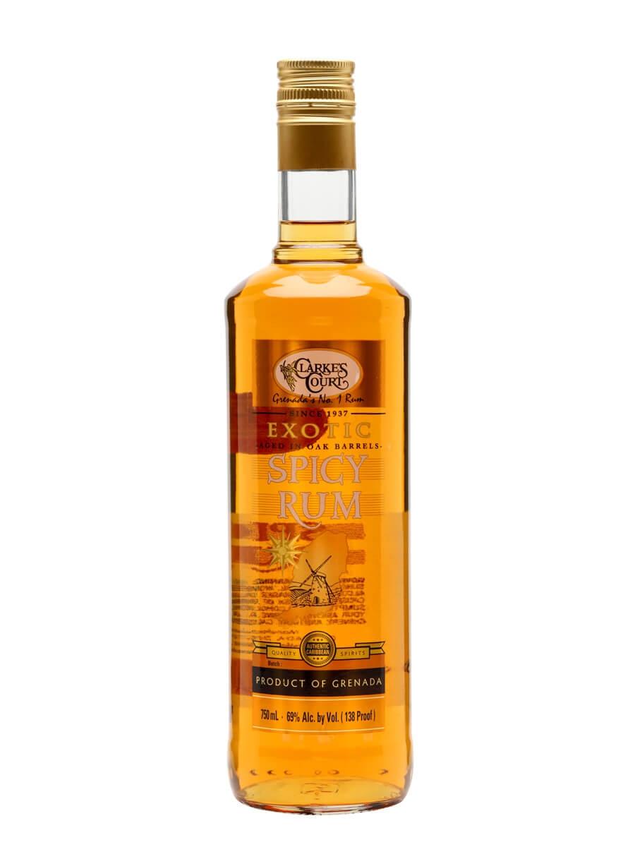 Clarke's Court Spicy Rum