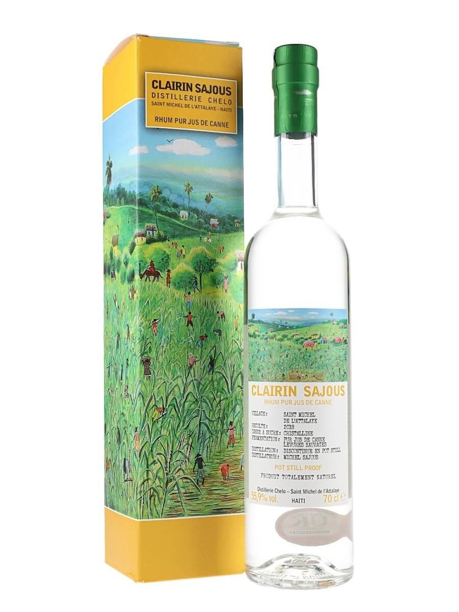 Clairin Sajous 2018 Rum (55.9%)