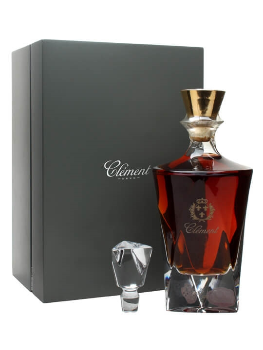 clement rhum carafe cristal buy from world 39 s best drinks. Black Bedroom Furniture Sets. Home Design Ideas
