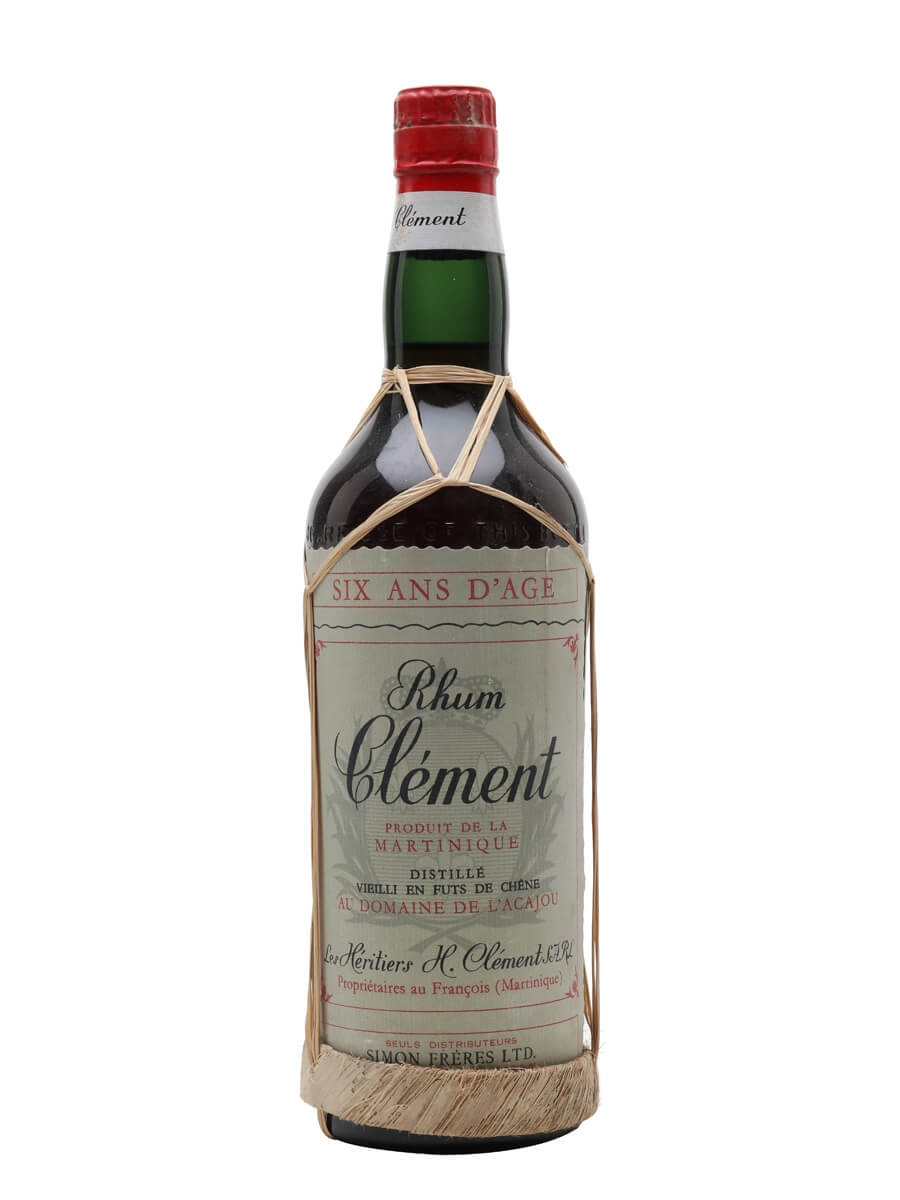 Clement 6 Year Old Rhum / Bot.1960s
