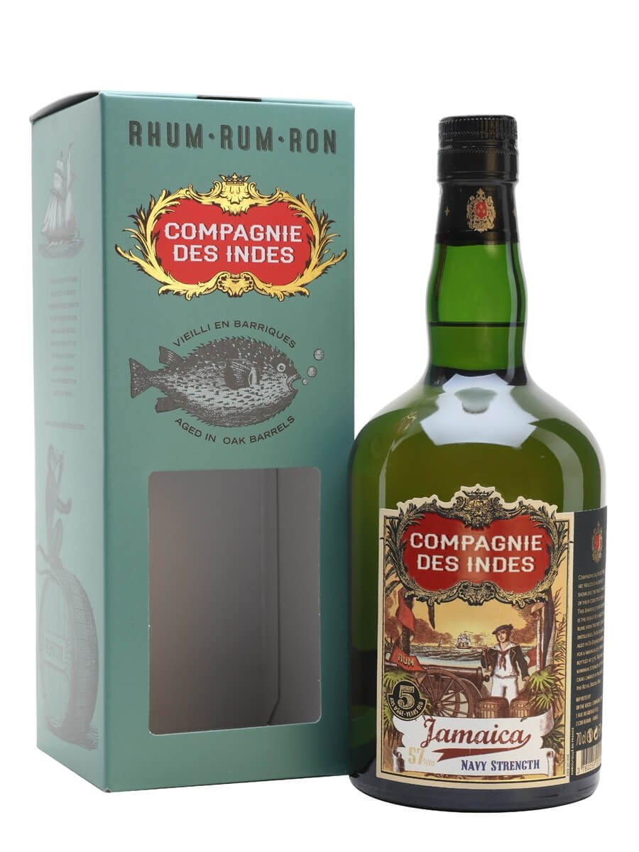 Jamaica 5 Year Old Navy Strength / Compagnie des Indes