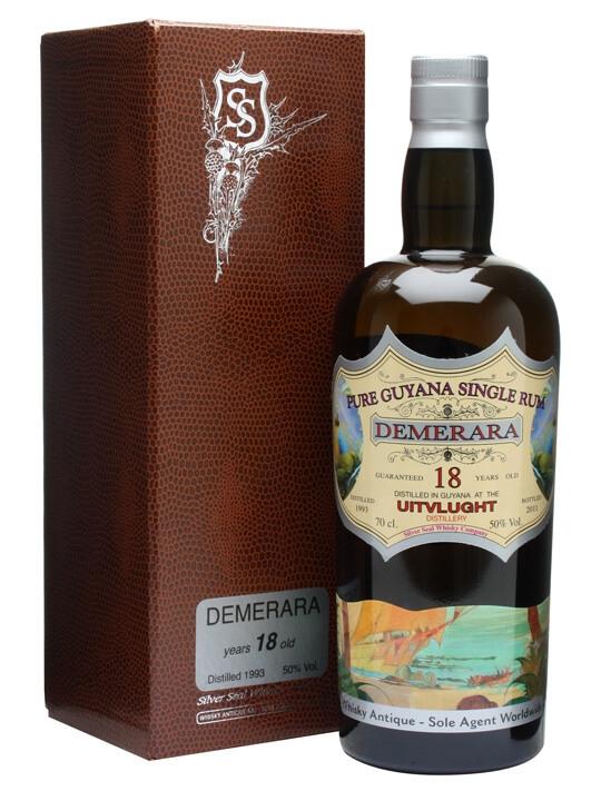 Uitvlught Demerara 1993 Rum / 18 Year Old / Bot.2011