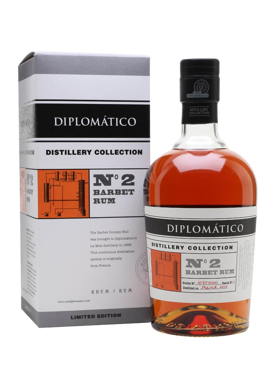 Diplomatico Barbet Rum / Distillery Collection No.2