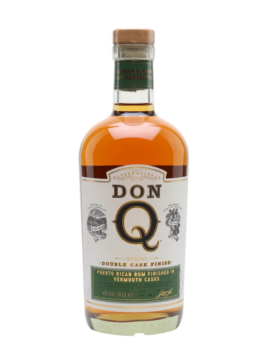 Don Q Double Wood Rum / Vermouth Cask Finish