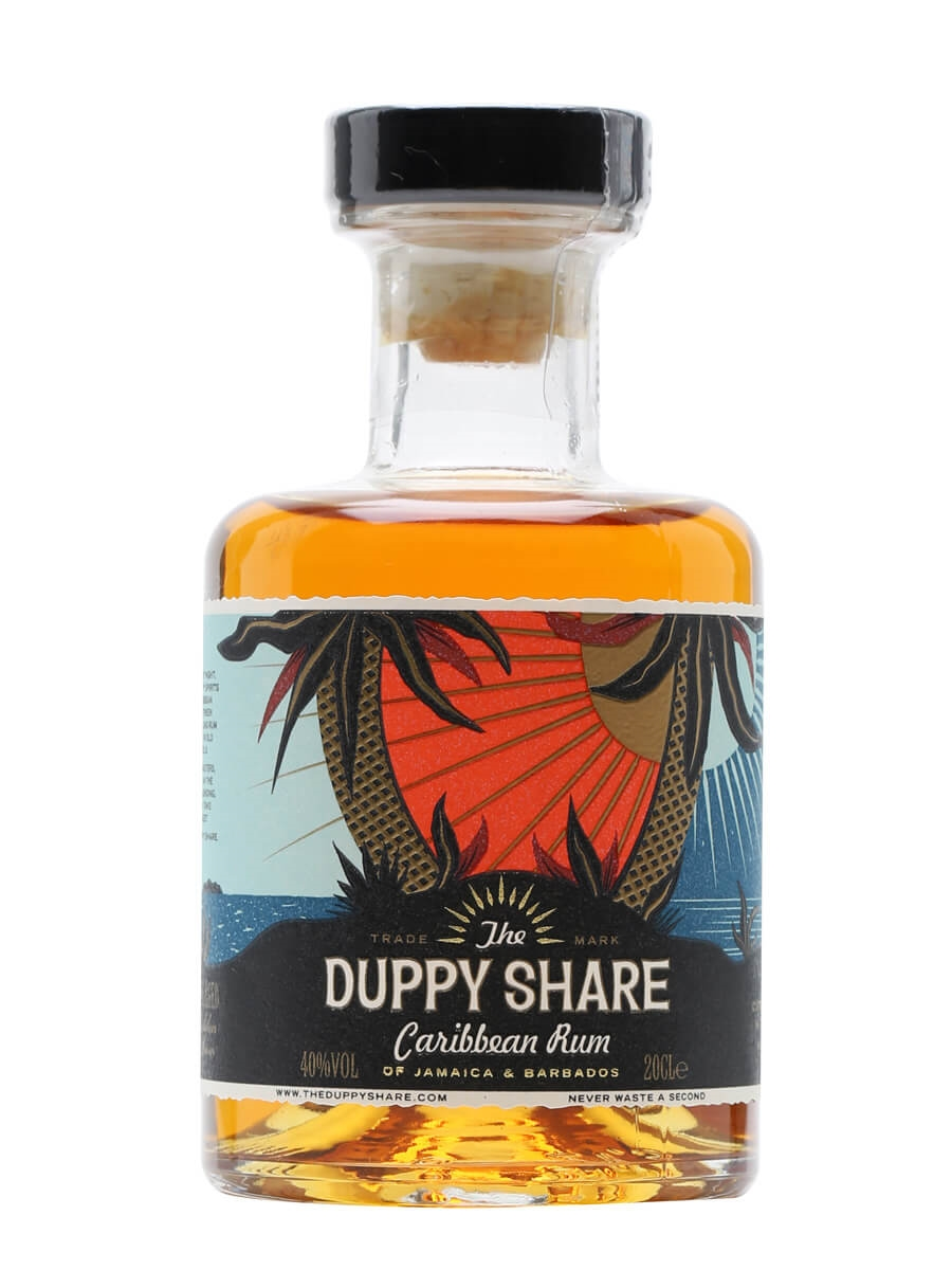 The Duppy Share Rum / Small Bottle