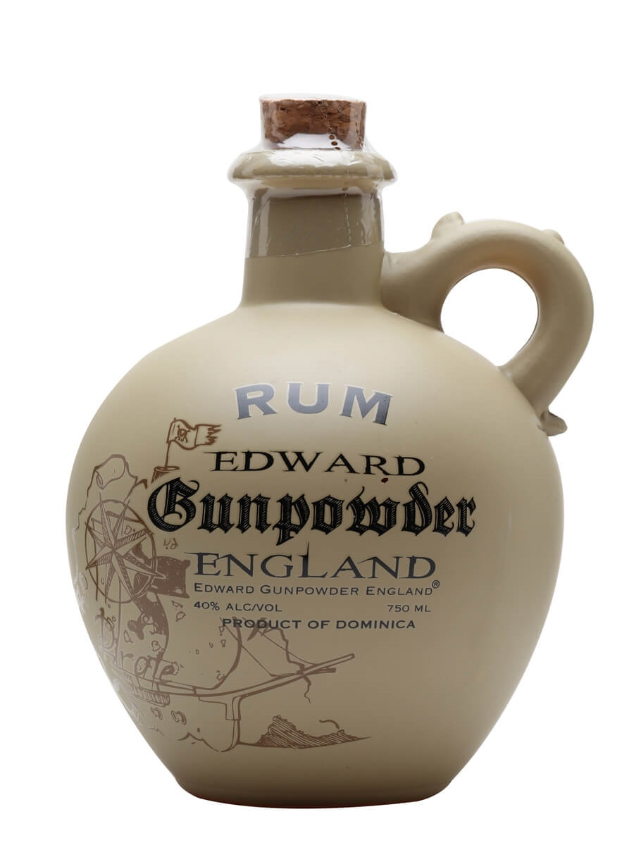 Edward Gunpowder England Spiced Rum