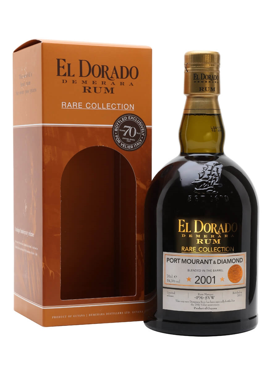 El Dorado Port Mourant & Diamond 2001 / Velier 70th