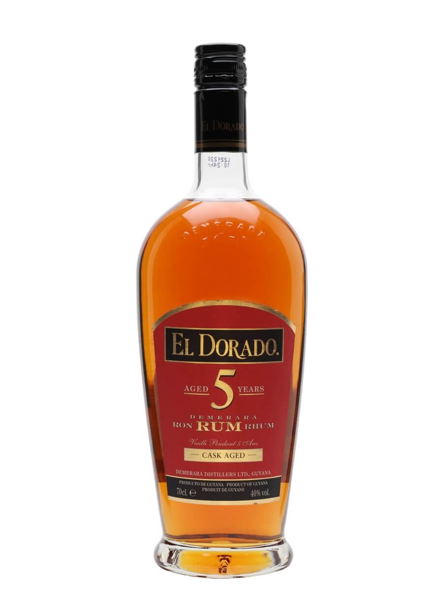 El Dorado 5 Year Old Gold Rum